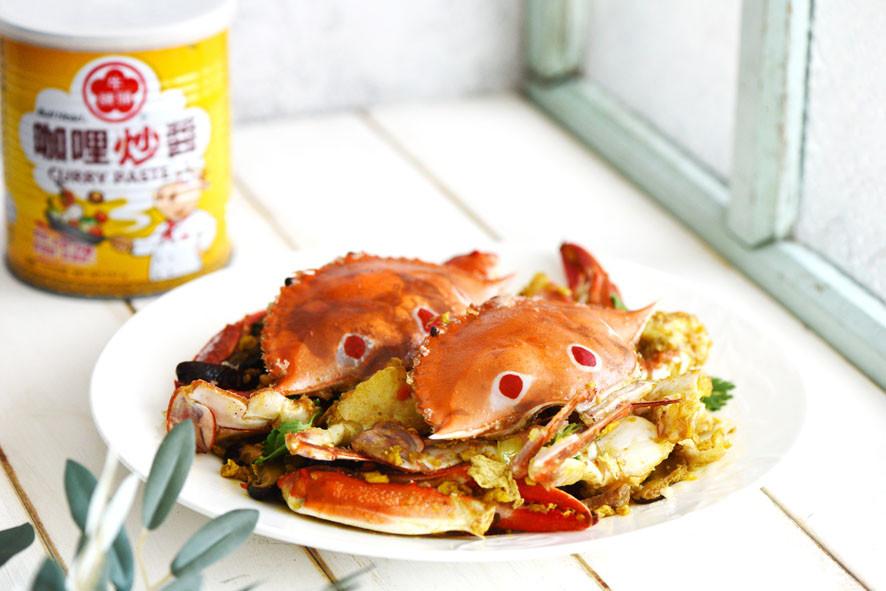 咖哩炒螃蟹