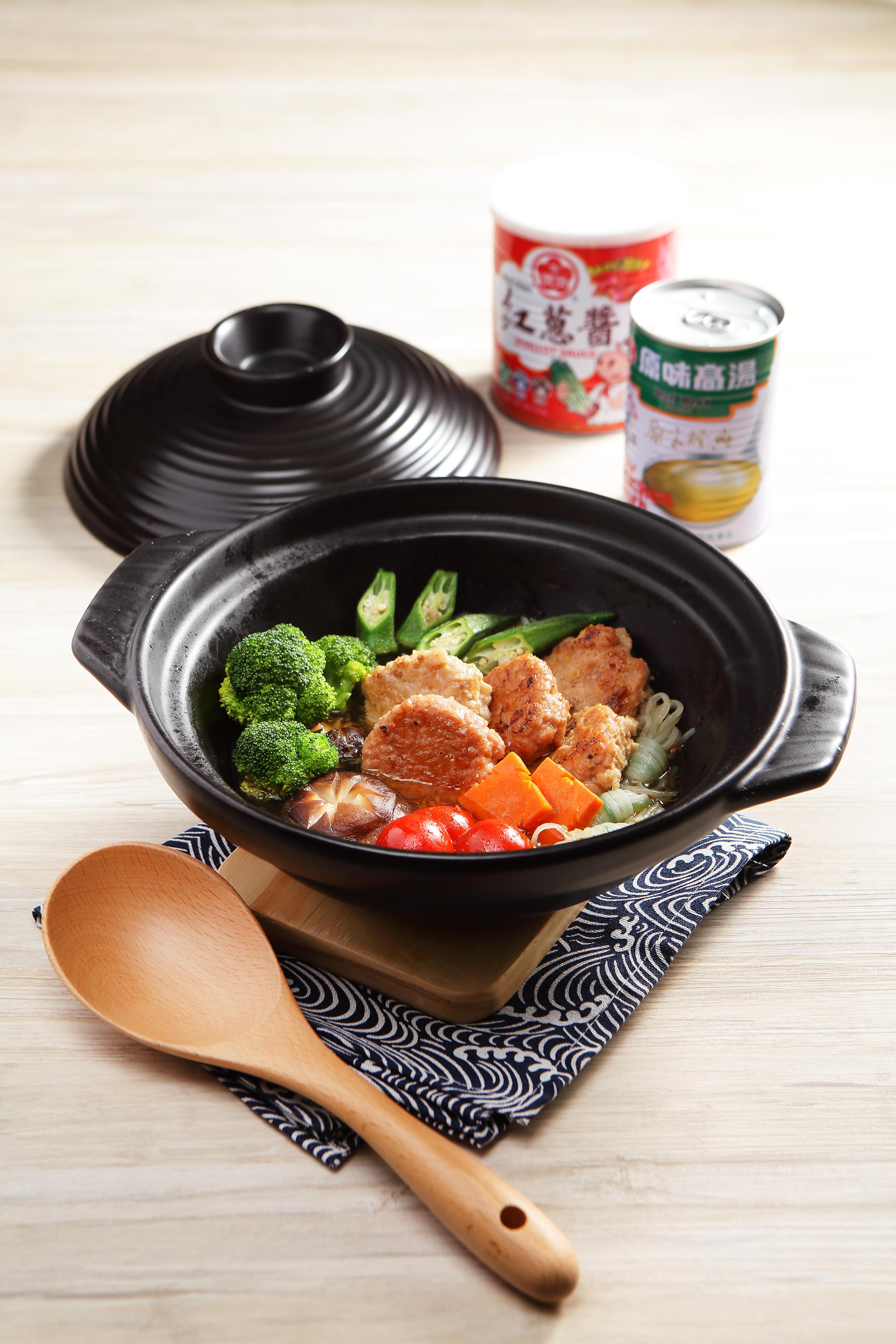 陶鍋健康植物肉