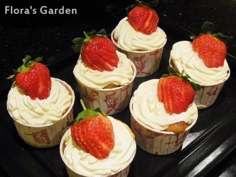 草莓煉乳瑪芬