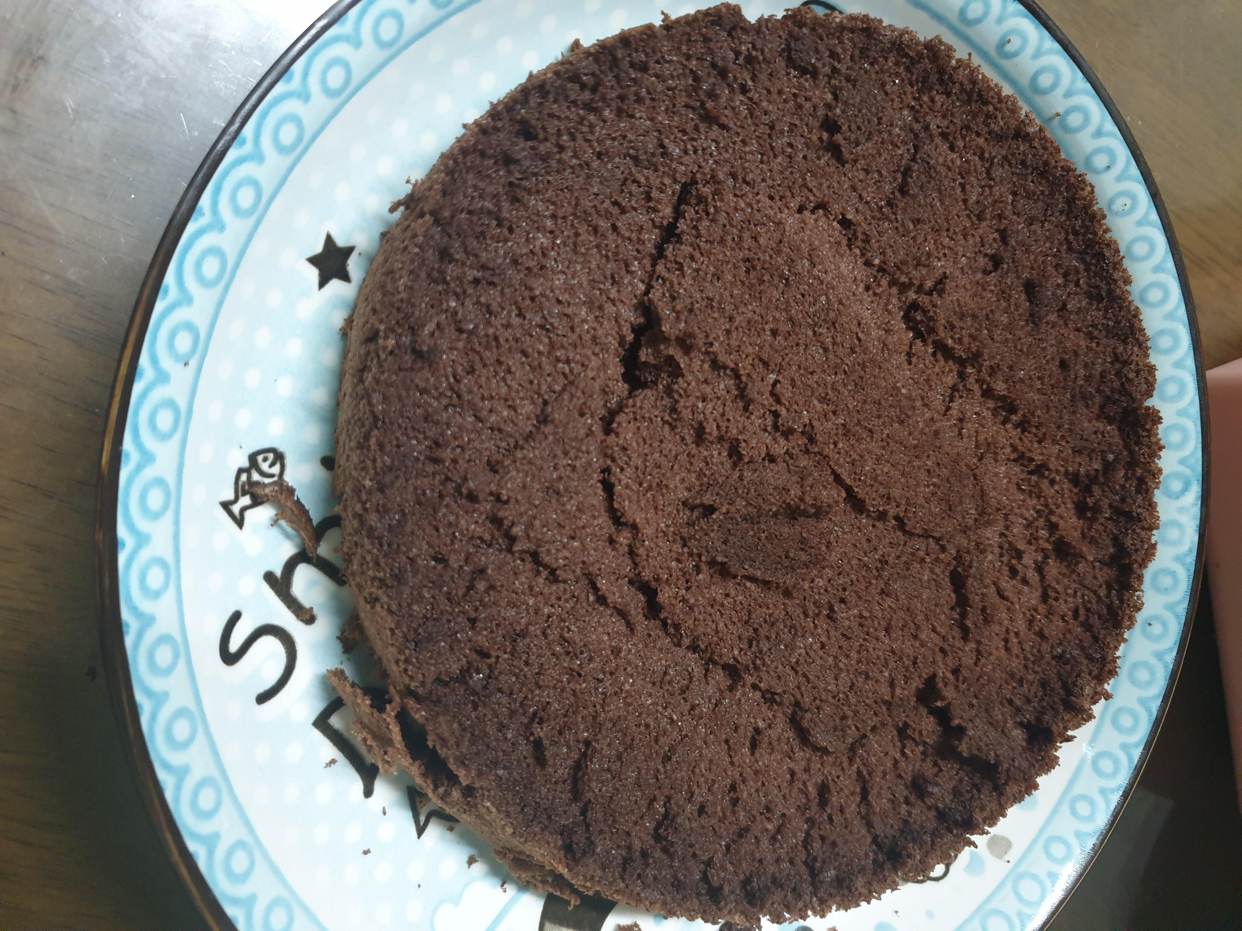 生酮巧克力海綿蛋糕 氣炸鍋