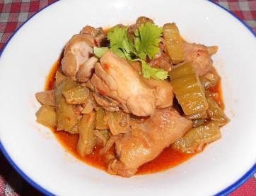 馬來西亞-悶苦瓜雞