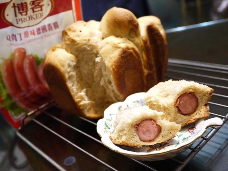 博客**德式香腸手撕麵包**