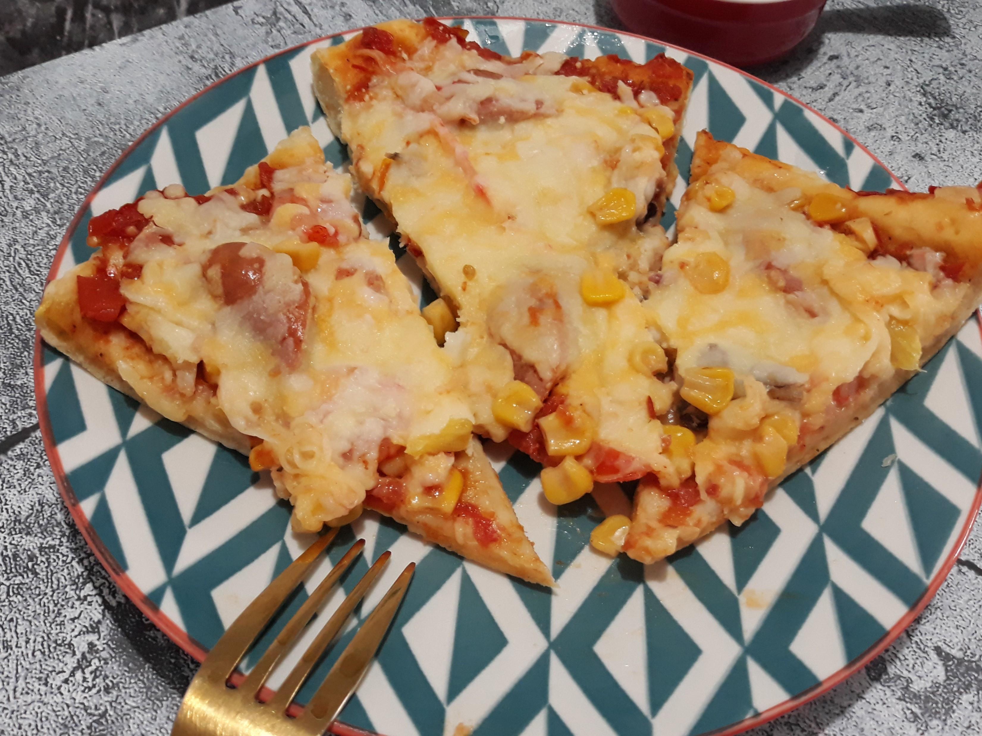 手作披薩(海鮮夏威夷)