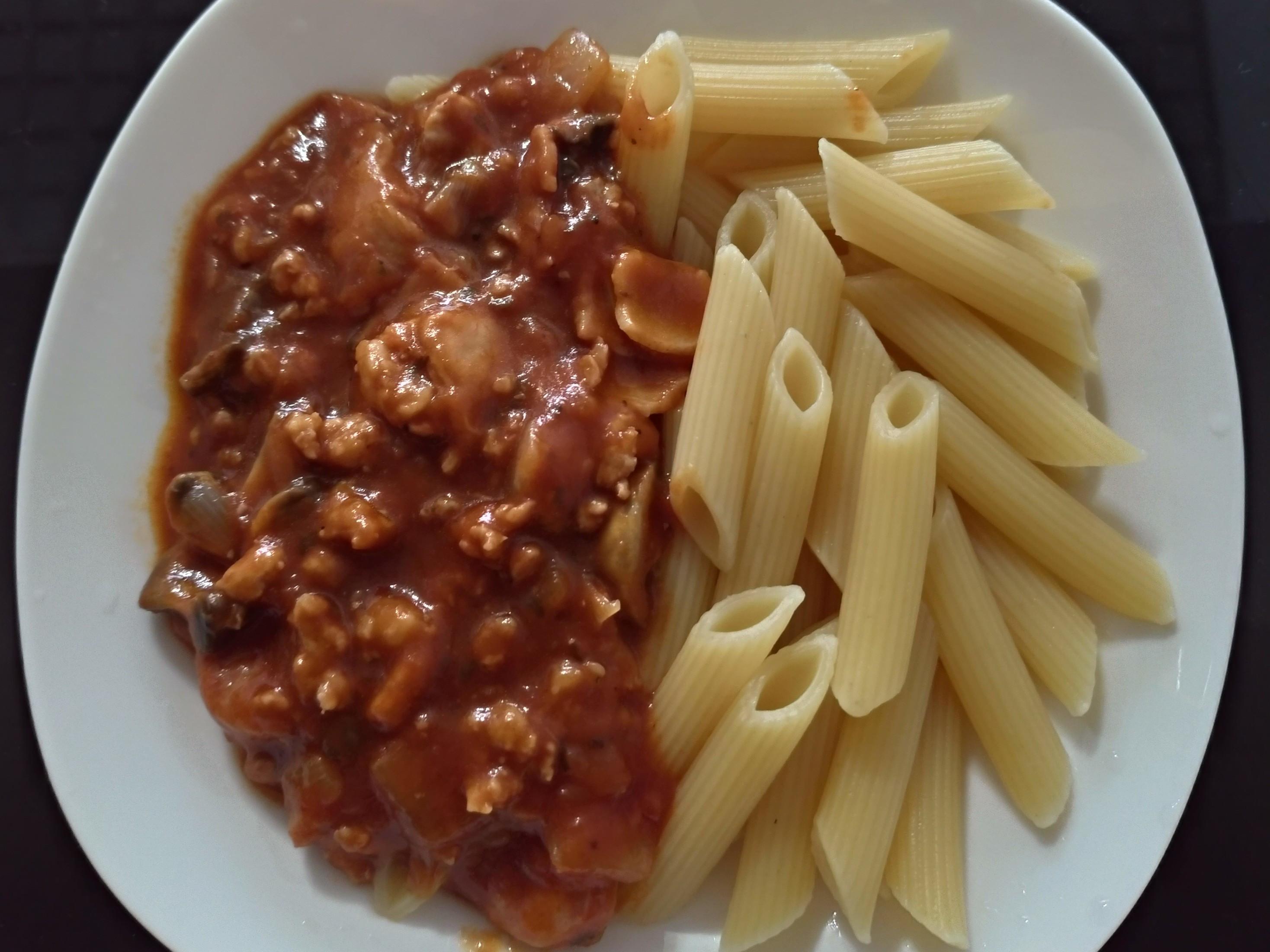 培根肉醬義大利麵