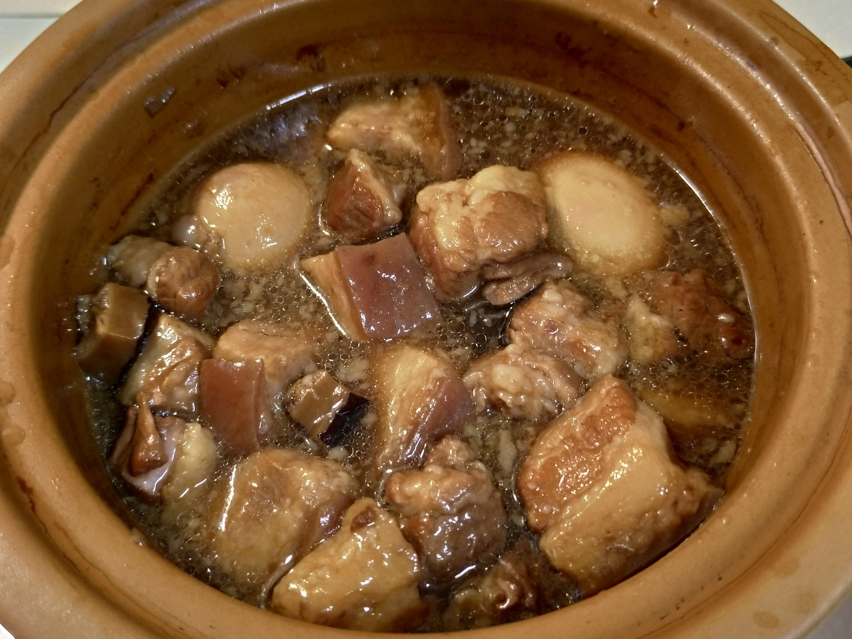 手切滷肉(燉鍋版)