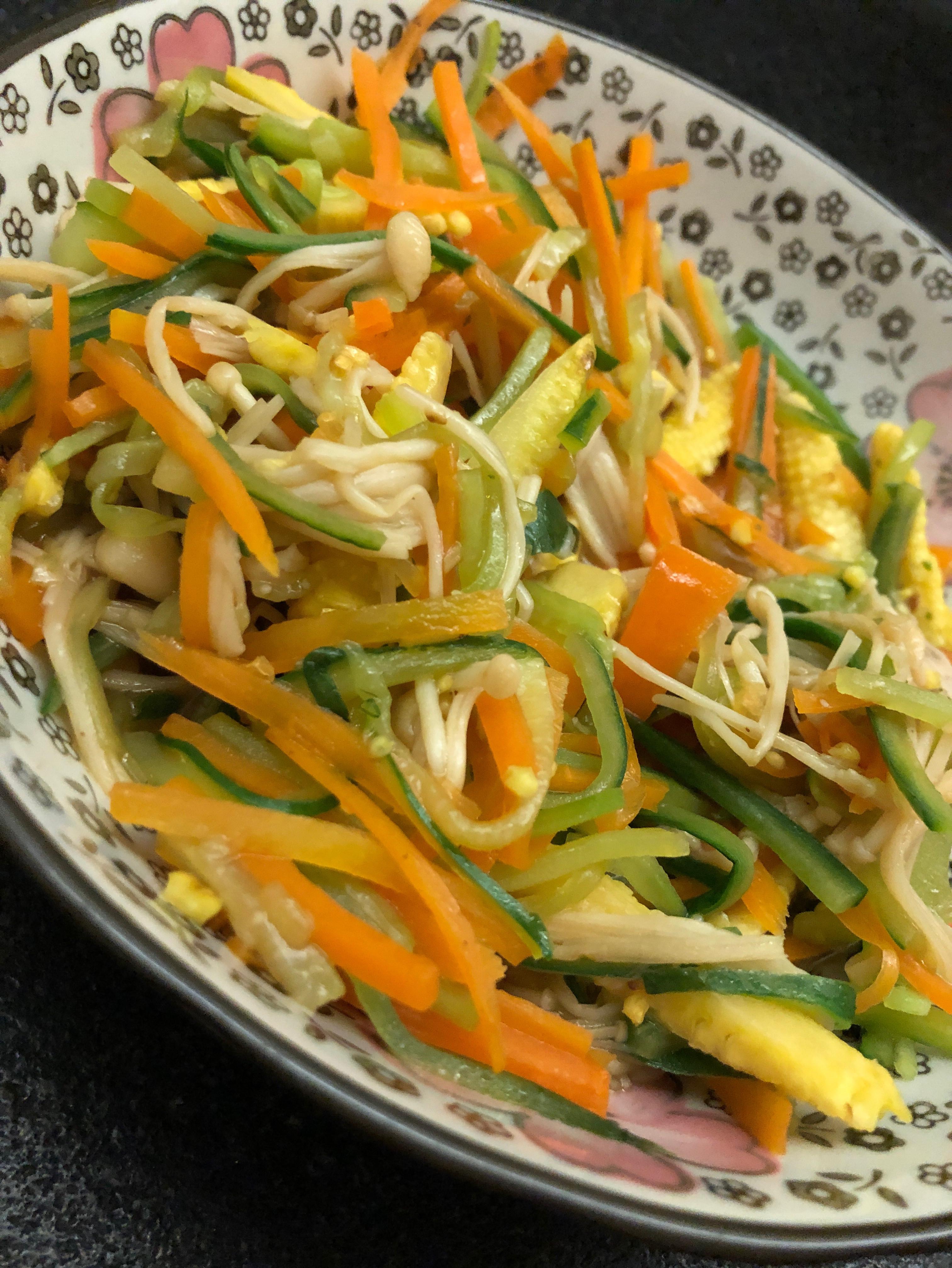 炒小黃瓜 涼拌菜 前菜 冷菜 素食