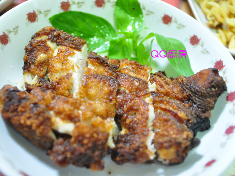 韓式醬料炸雞排