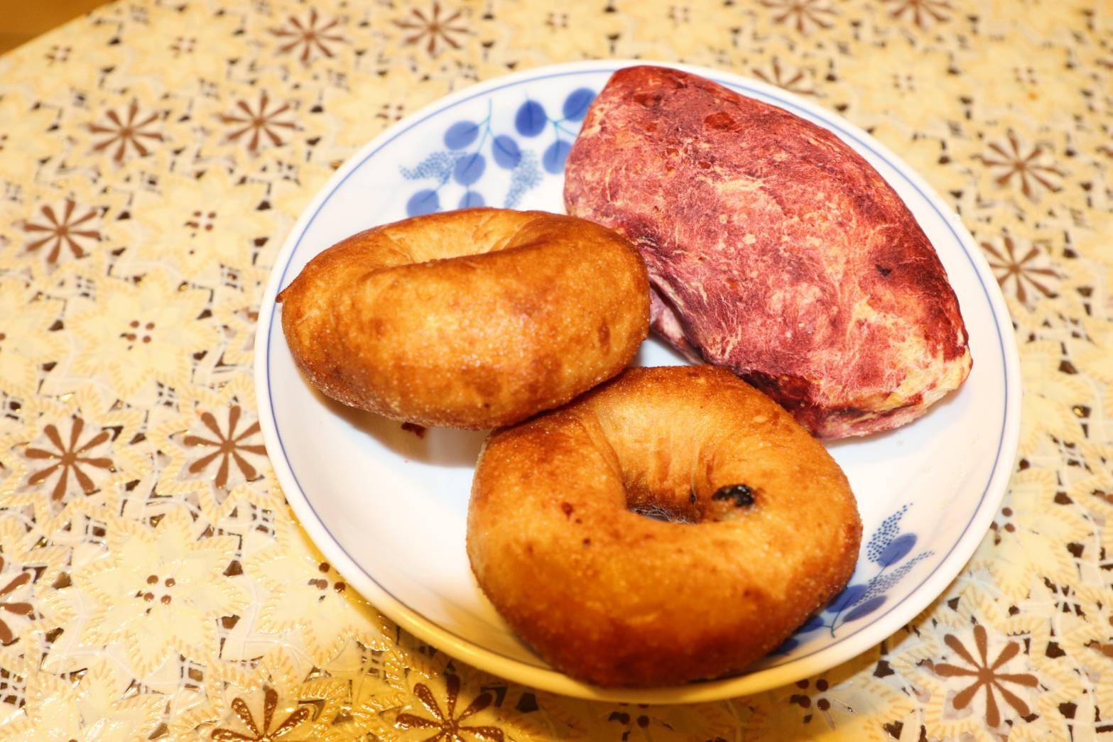 藍莓甜甜圈