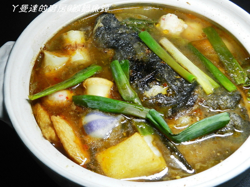 ㄚ曼達的廚房~砂鍋魚頭