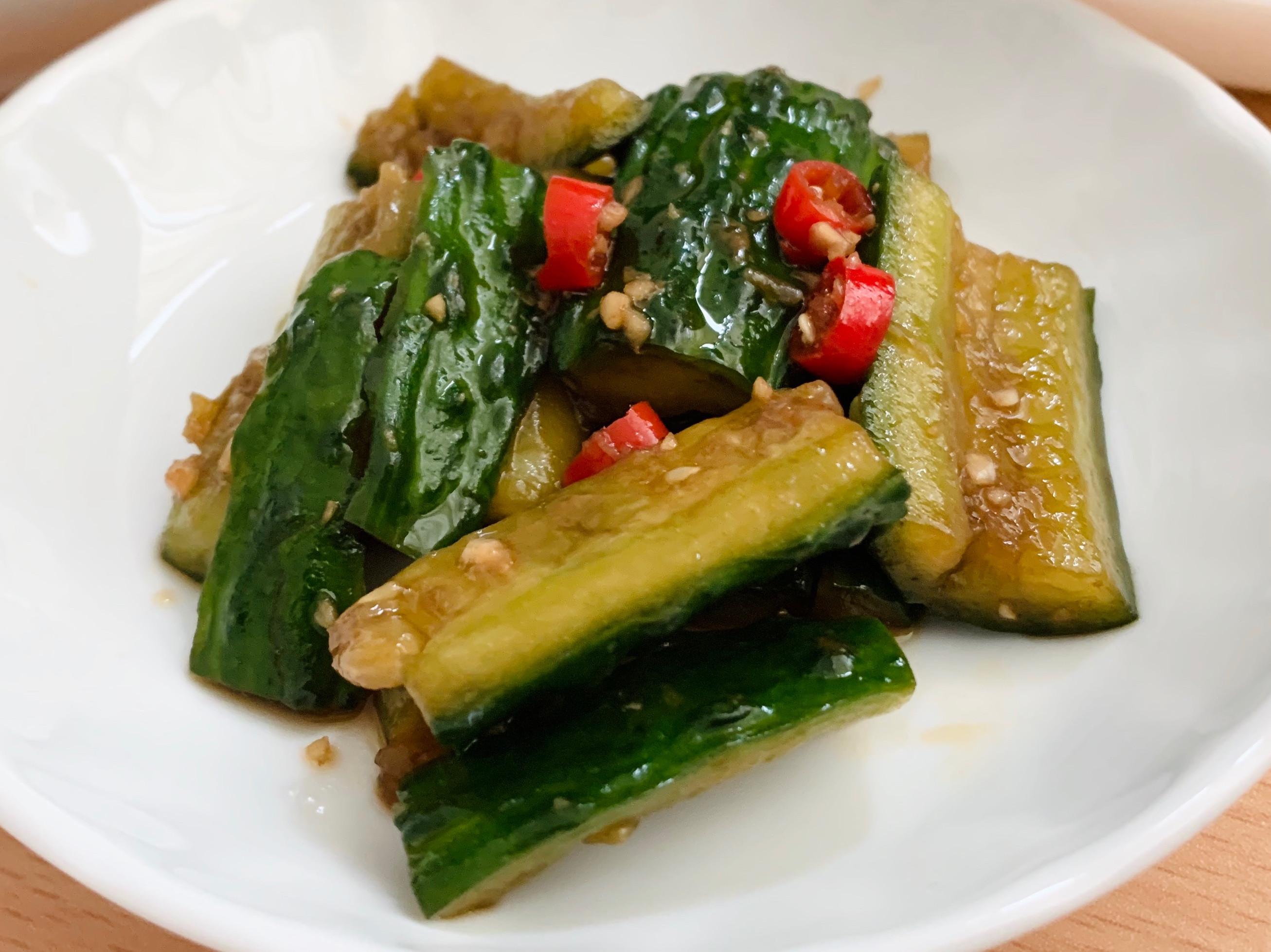 手拍涼拌小黃瓜 開胃前菜