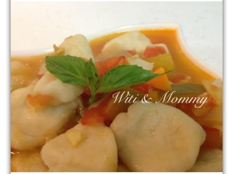 [Witi✿Kitchen]義式蕃茄麵疙瘩