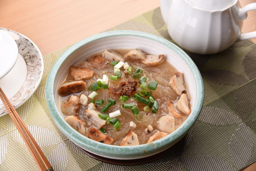 菇菇魚丸沙茶冬粉