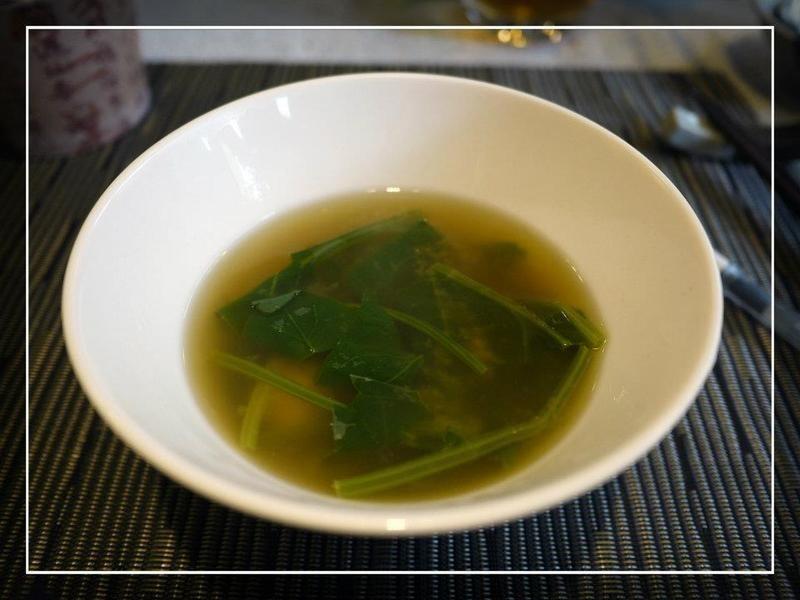 菠菜蛤蜊味增湯