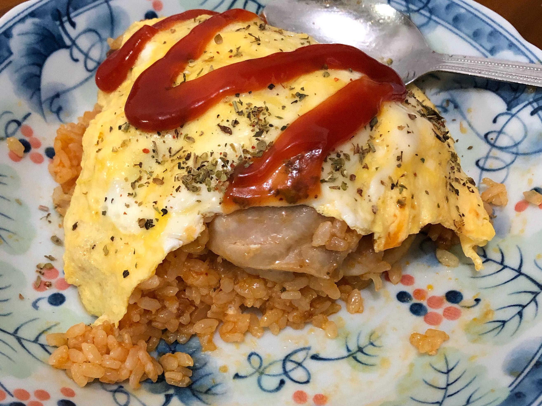 [簡易日式料理]番茄蛋包飯