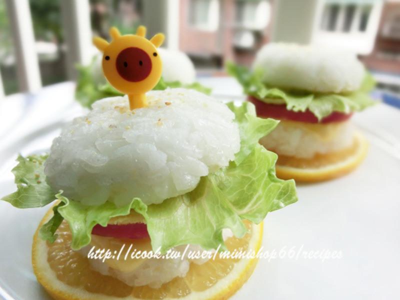【博客】火腿起士蛋小米堡