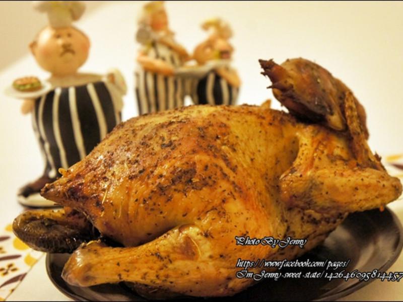 迎接聖誕‧義大利香料烤全雞