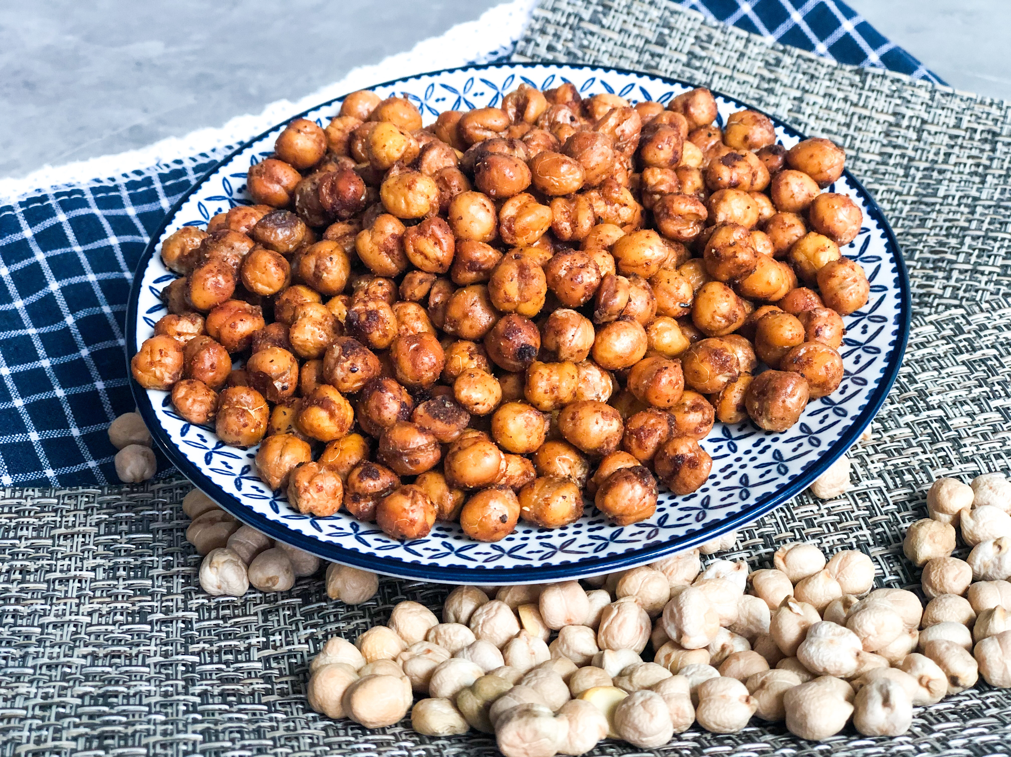 烤香脆微辣的鷹嘴豆(Chickpea)