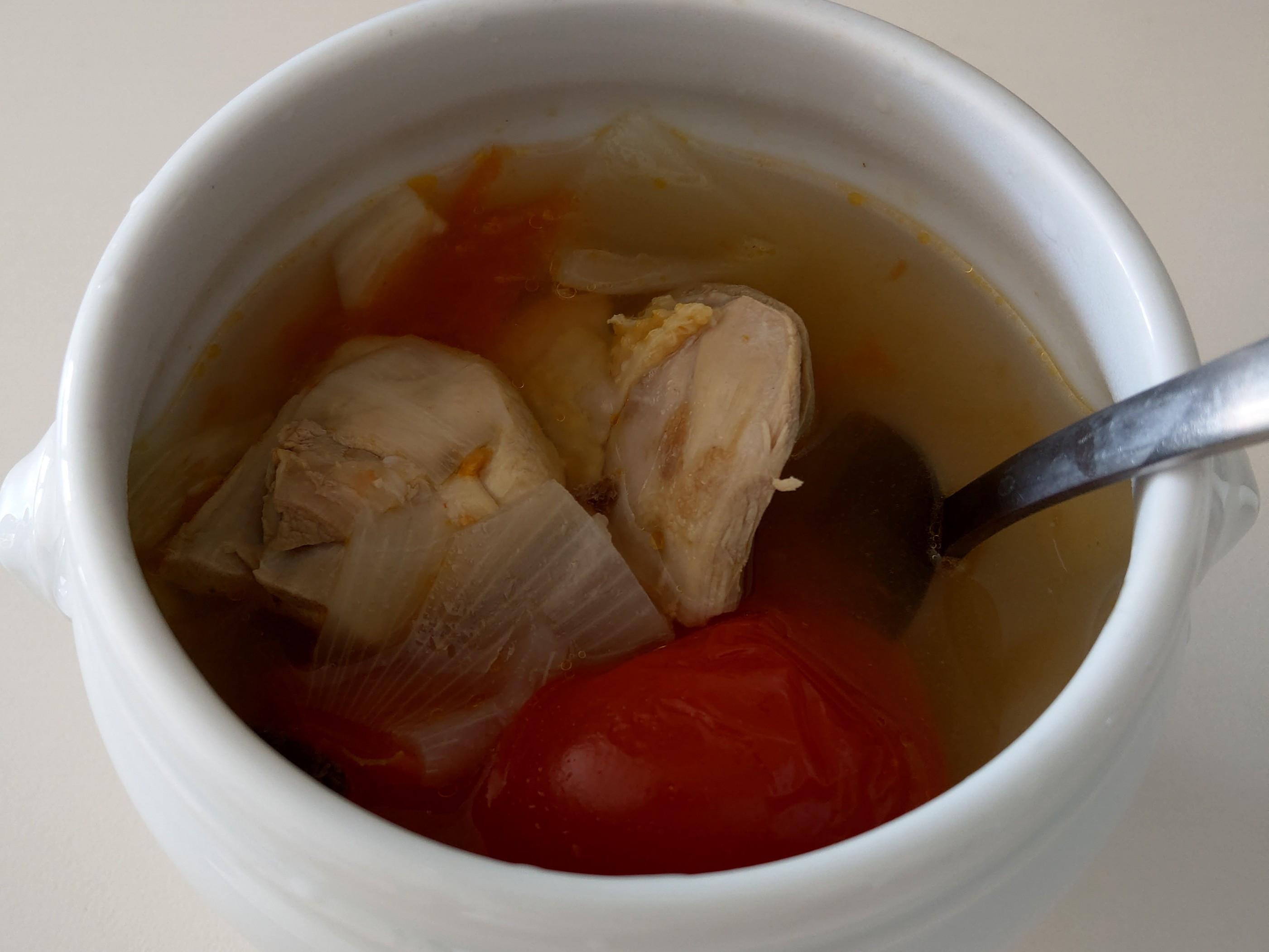 番茄洋蔥雞湯