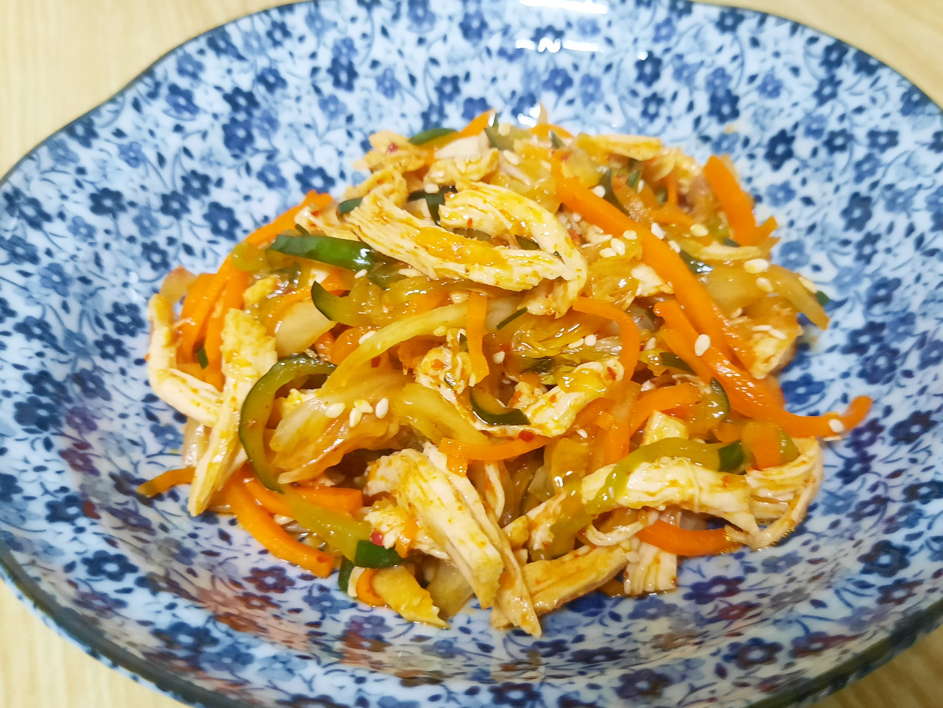 涼拌韓式泡菜雞絲(分享2種作法)