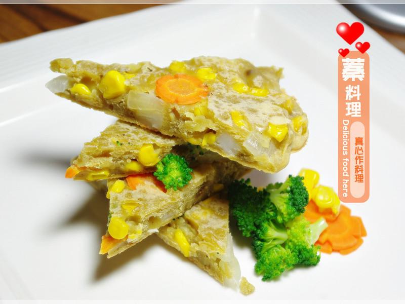 [穀盛綠咖哩]綠咖哩蔬菜煎餅
