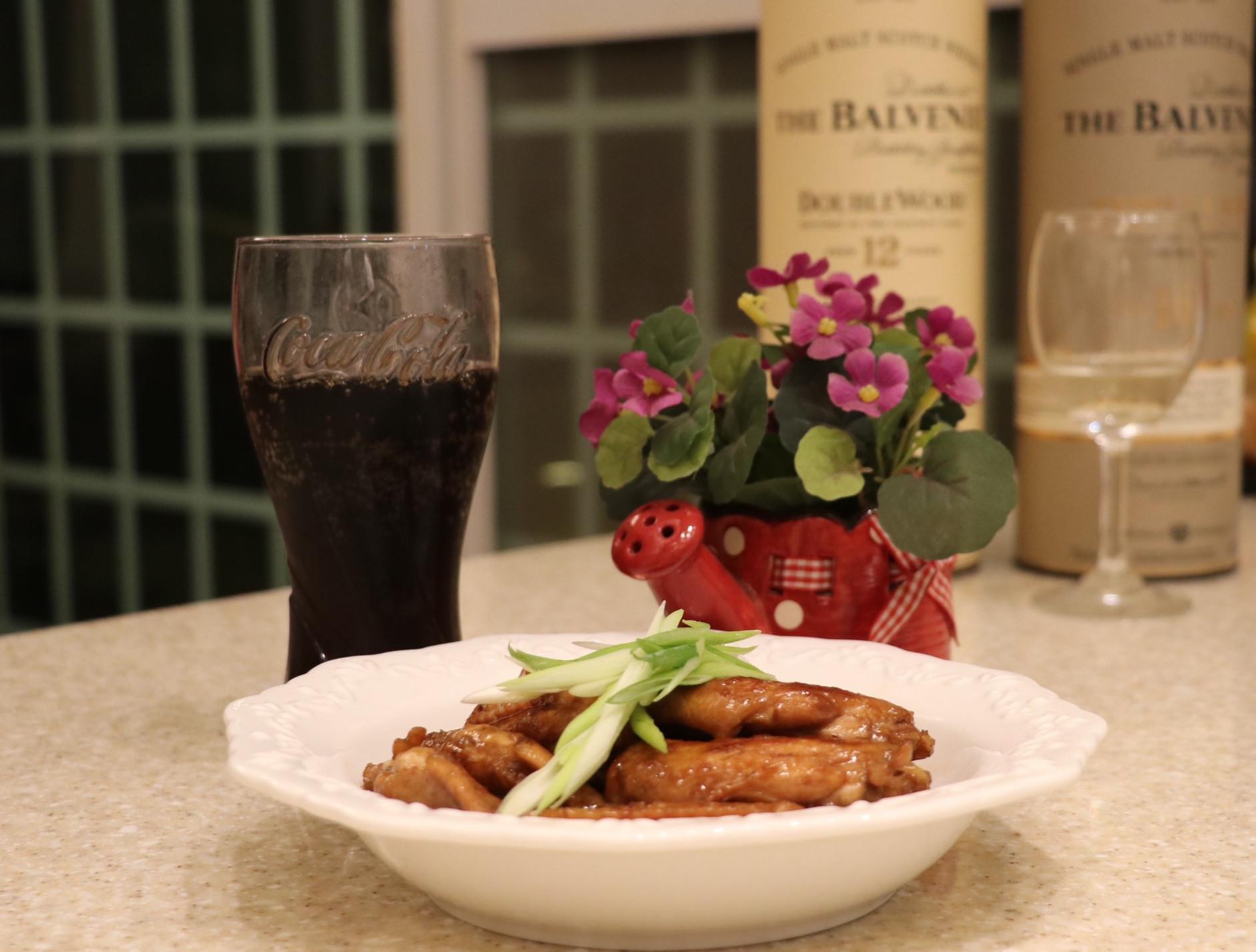 零廚藝簡單易做下酒菜「可樂雞翅」