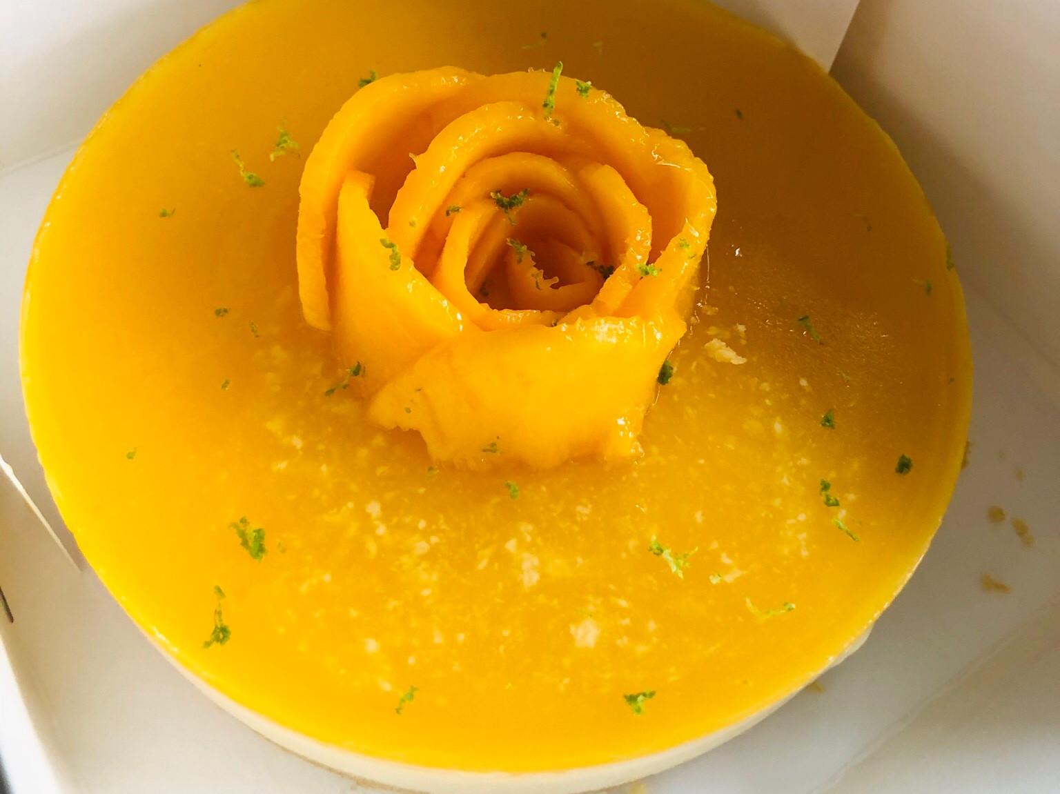 芒果生乳酪塔