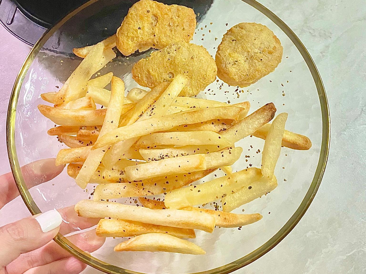 氣炸鍋薯條