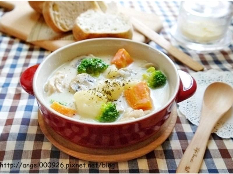 幸福的奶油燉菜 - 簡易版