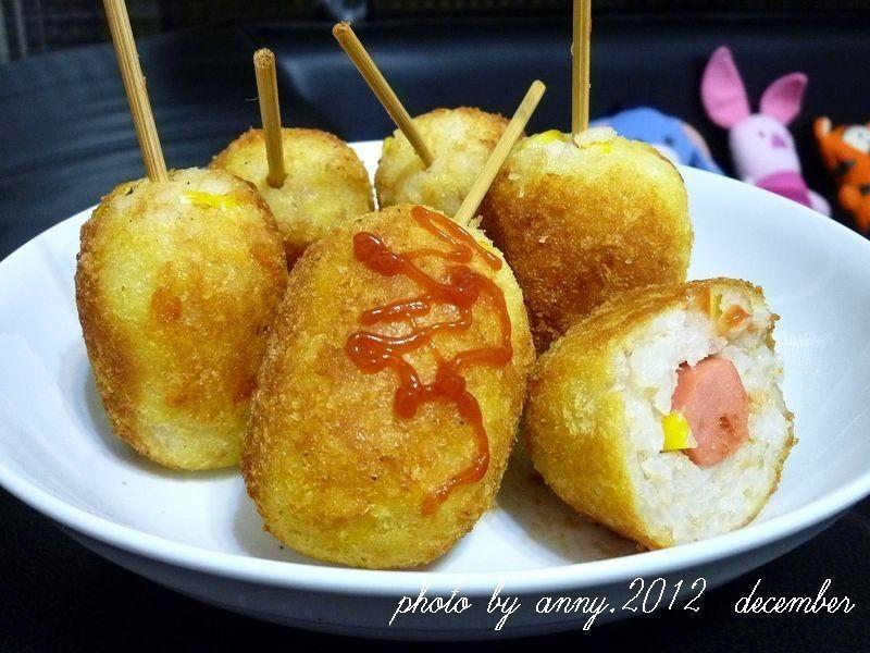 【博客】鮪魚米熱狗