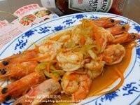 『幸福滋味』亨氏番茄醬。輕蔬蝦盤。