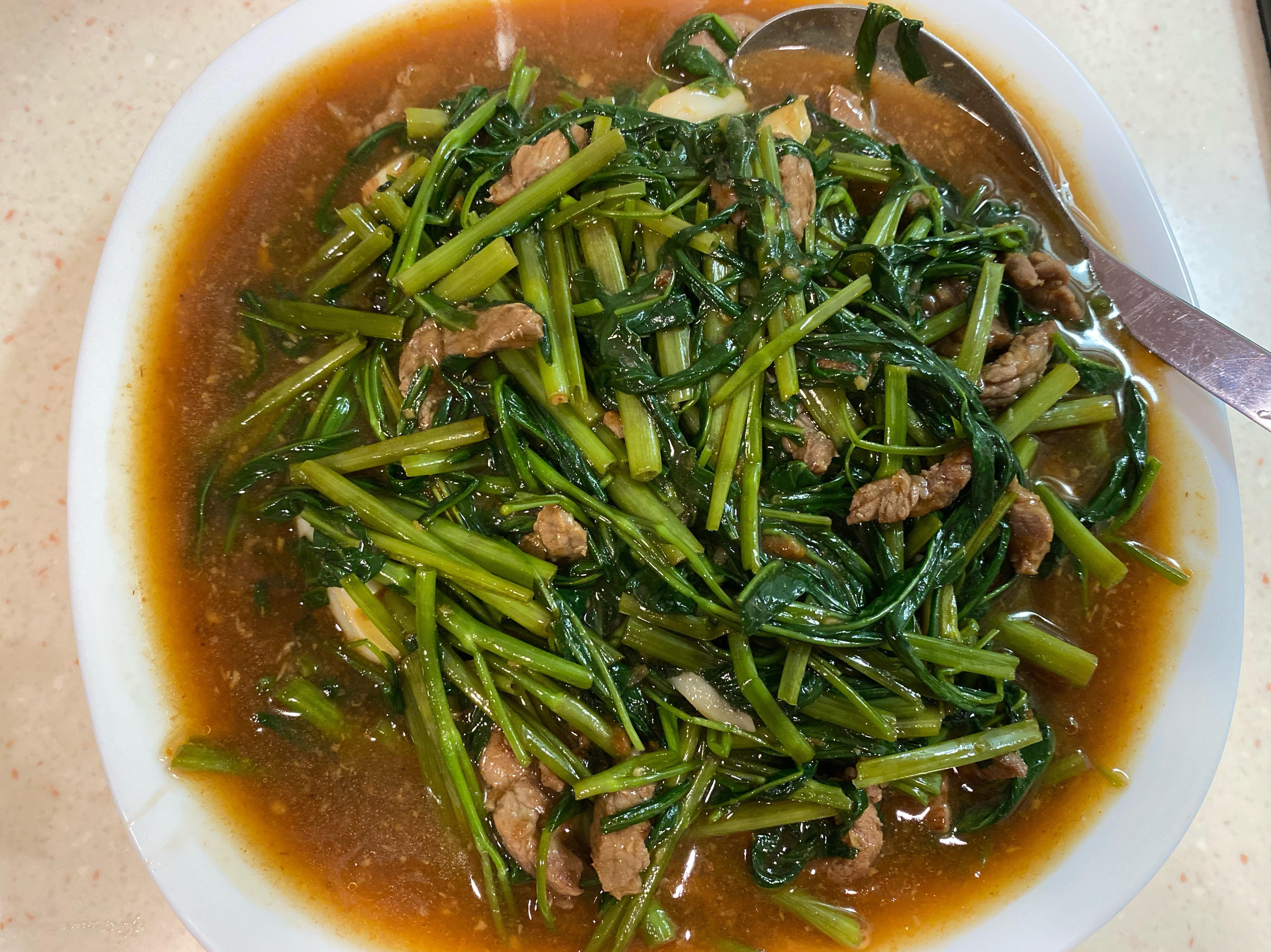 沙茶牛肉燴飯