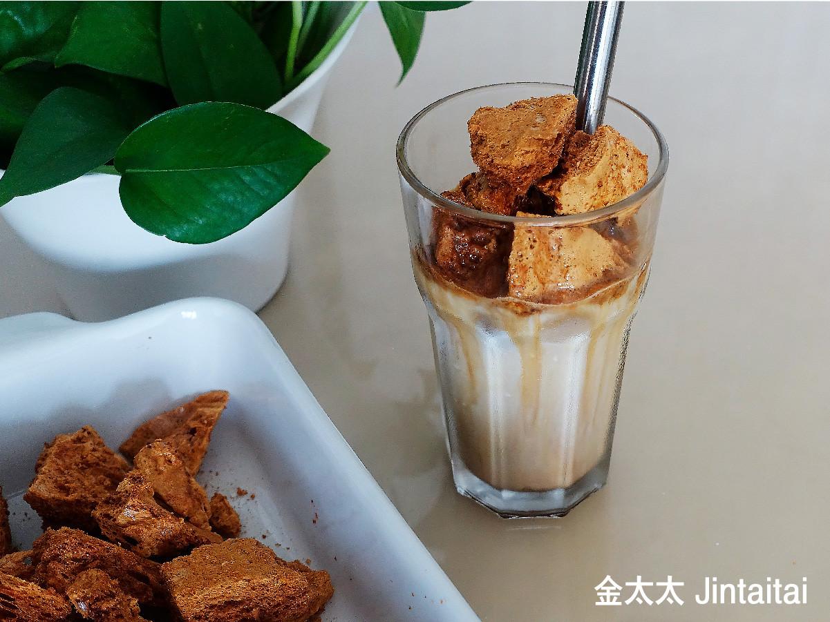 韓式焦糖餅拿鐵   不是400次咖啡