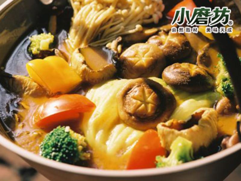【小磨坊】養生咖哩菇菇鍋