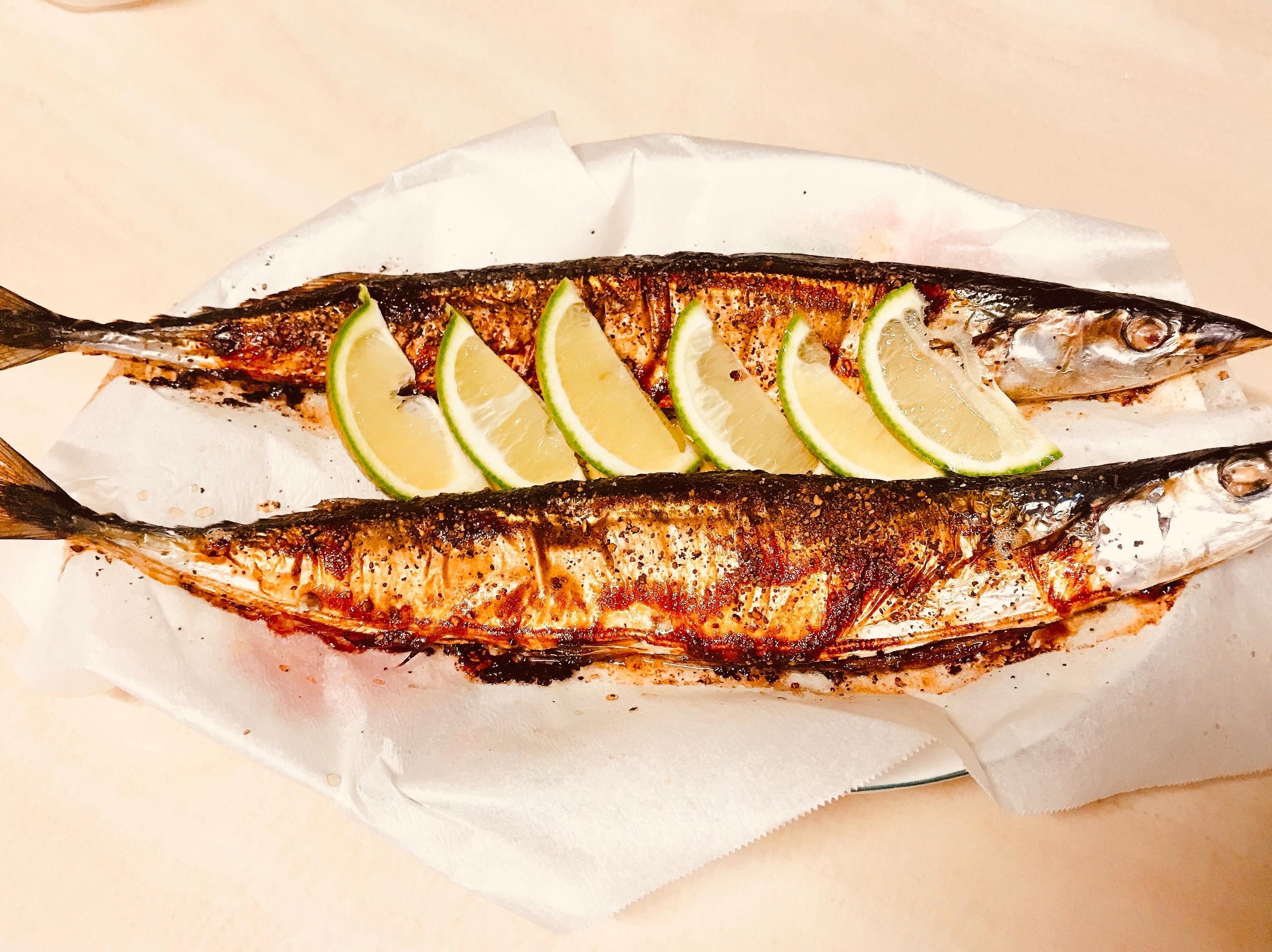 烤箱-》秋刀魚🐟
