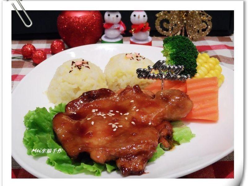 【日式照燒雞腿飯飯】