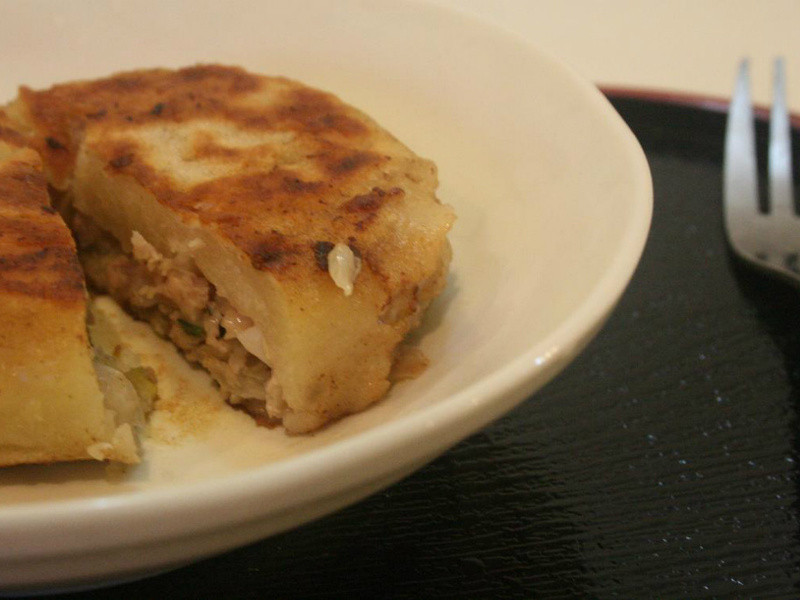 台灣小吃美味-豬肉餡餅