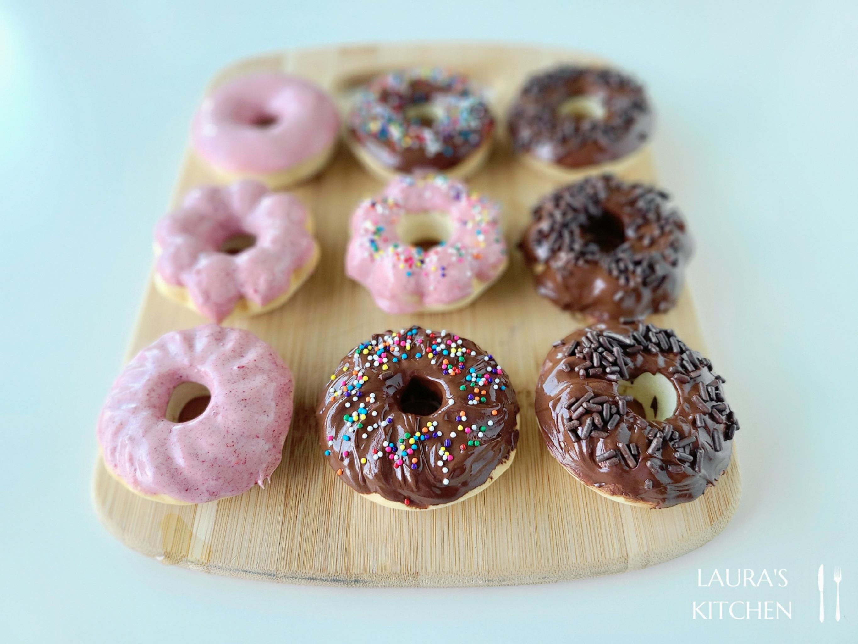 波堤甜甜圈 (烤箱版)