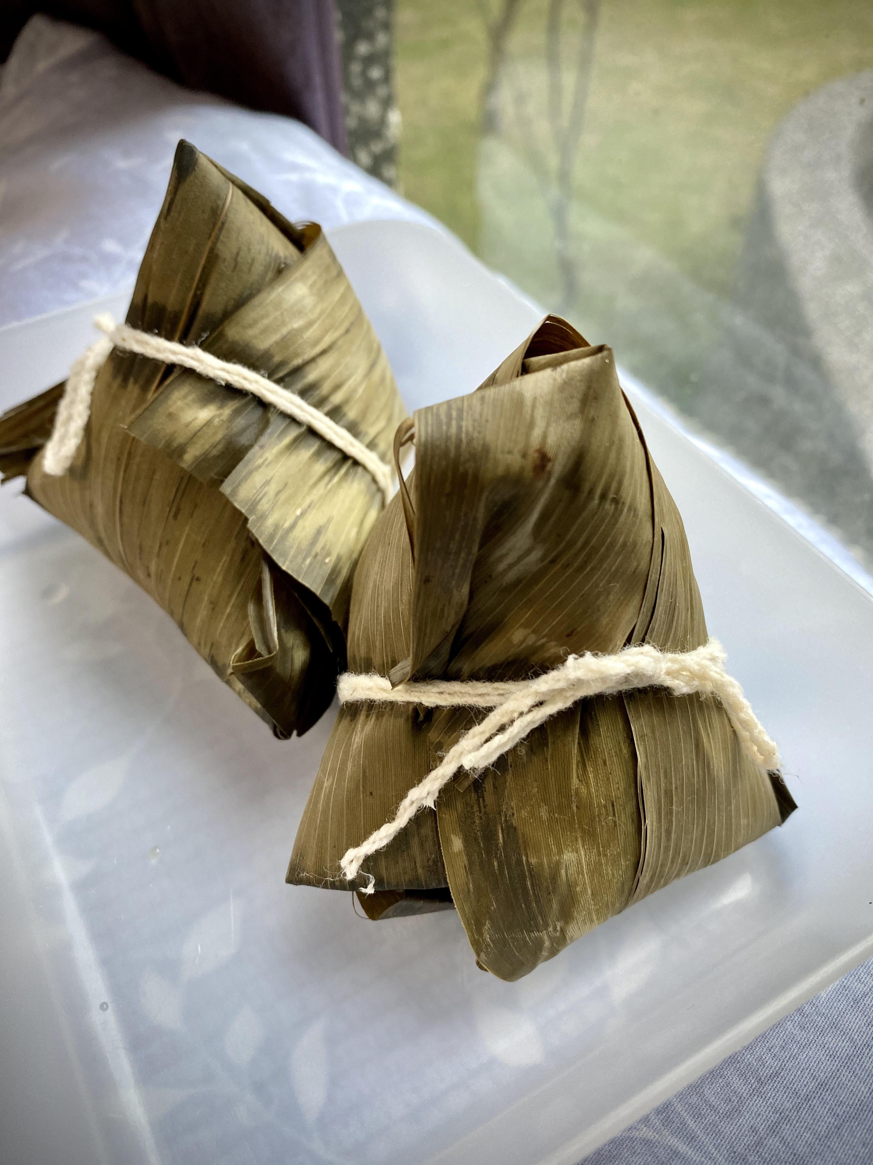 新豬肉香菇素粽(純素)