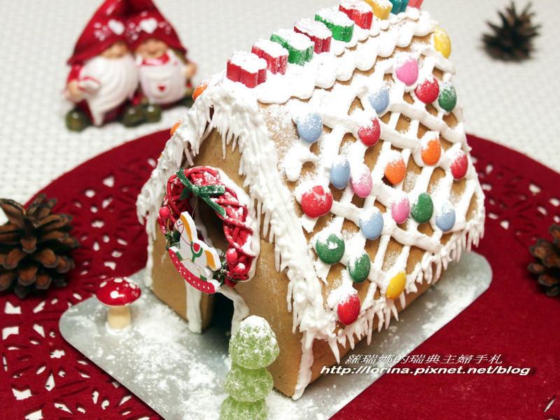 親子同樂之聖誕節薑餅屋