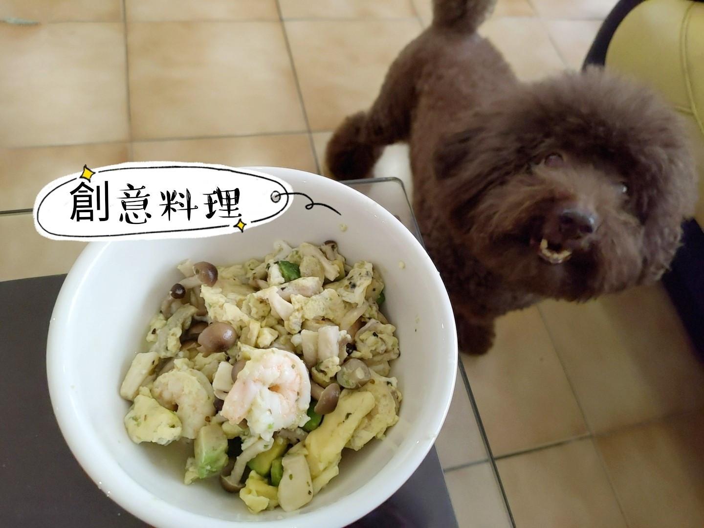 【運動後料理】蝦仁菇菇