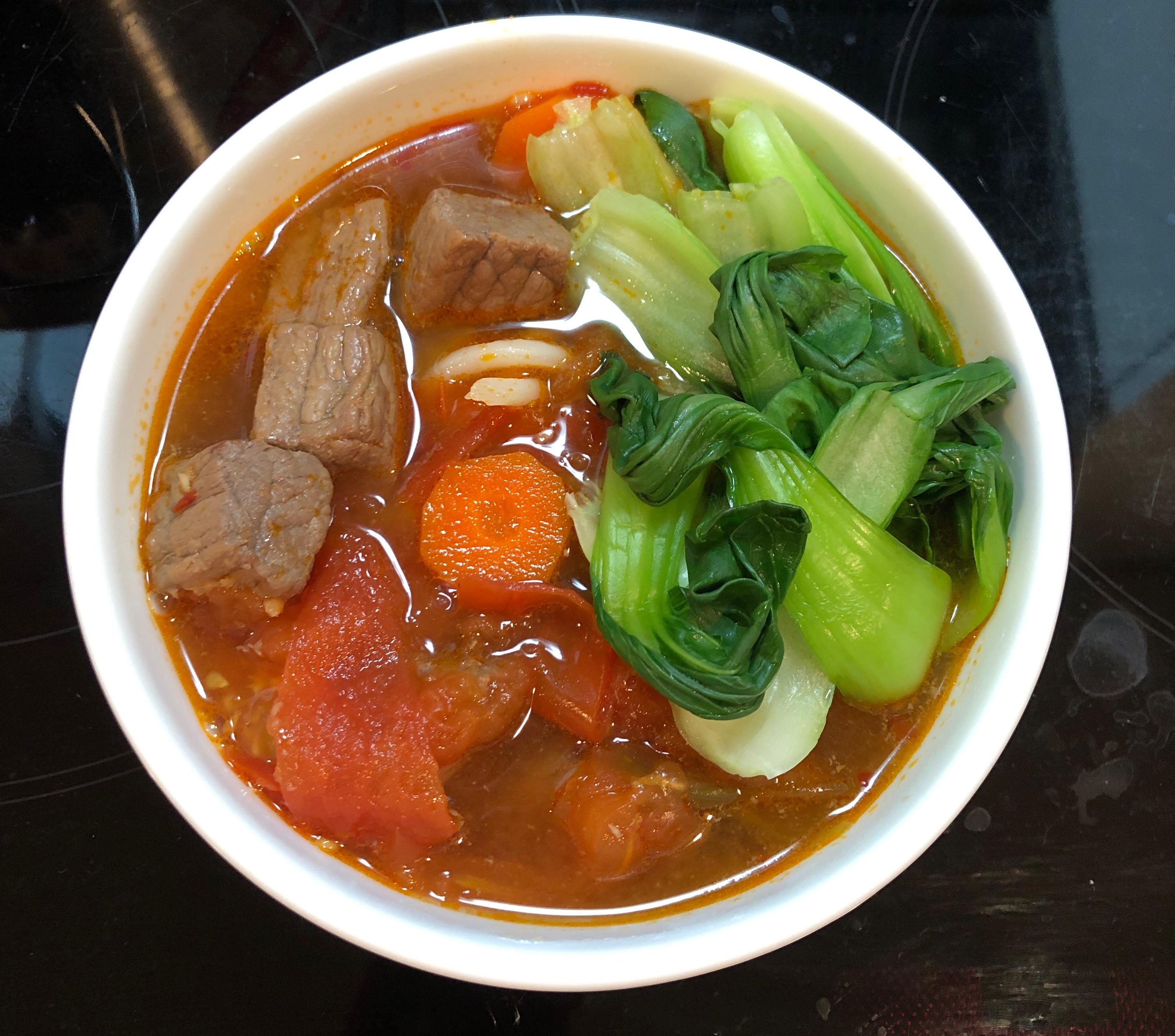 番茄牛肉湯(電鍋)