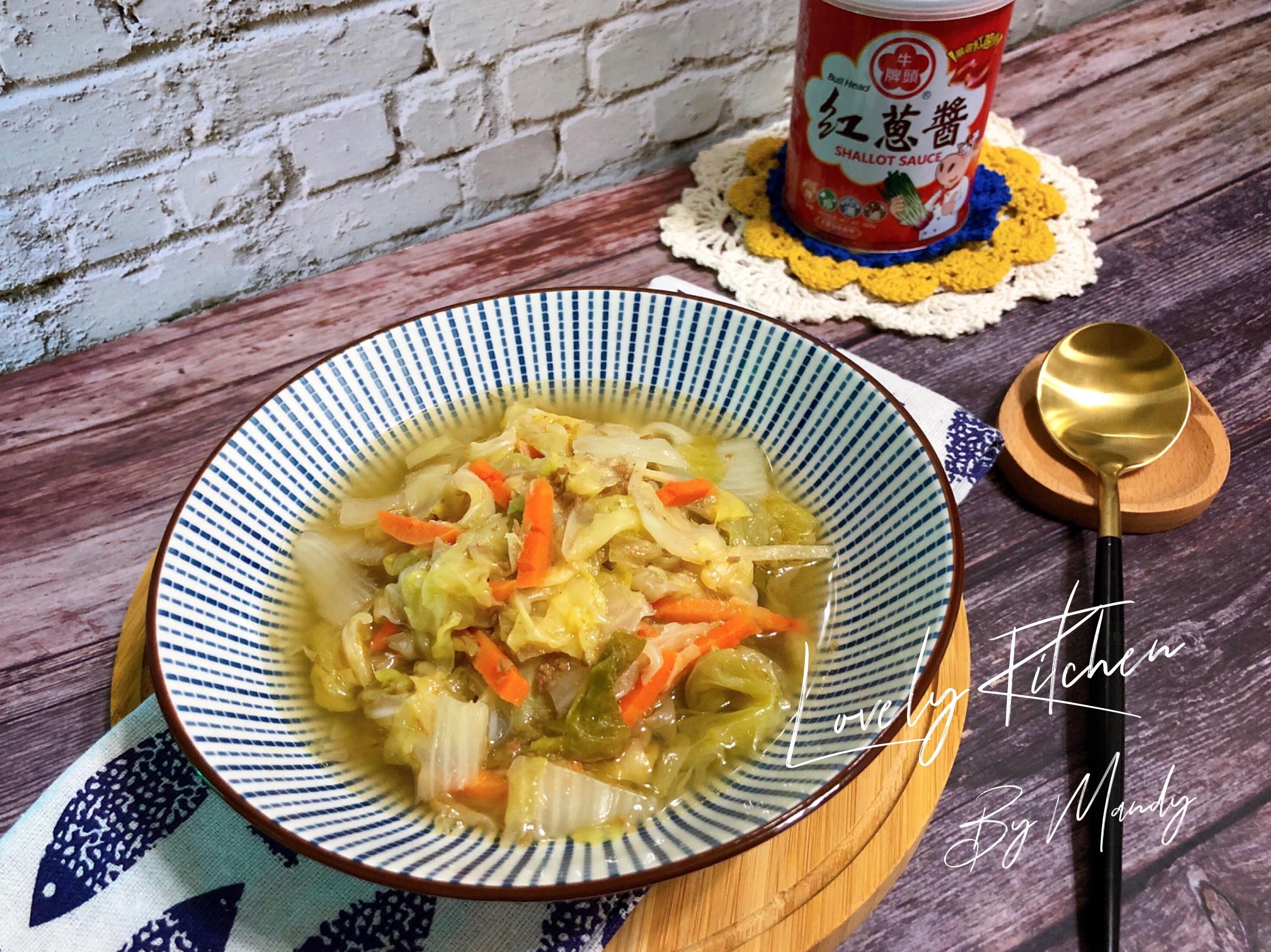 紅蔥醬滷白菜【電鍋版】