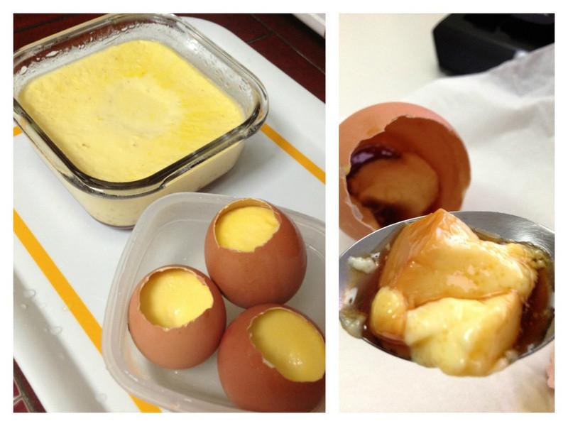 [電鍋]焦糖布丁.蛋殼布丁