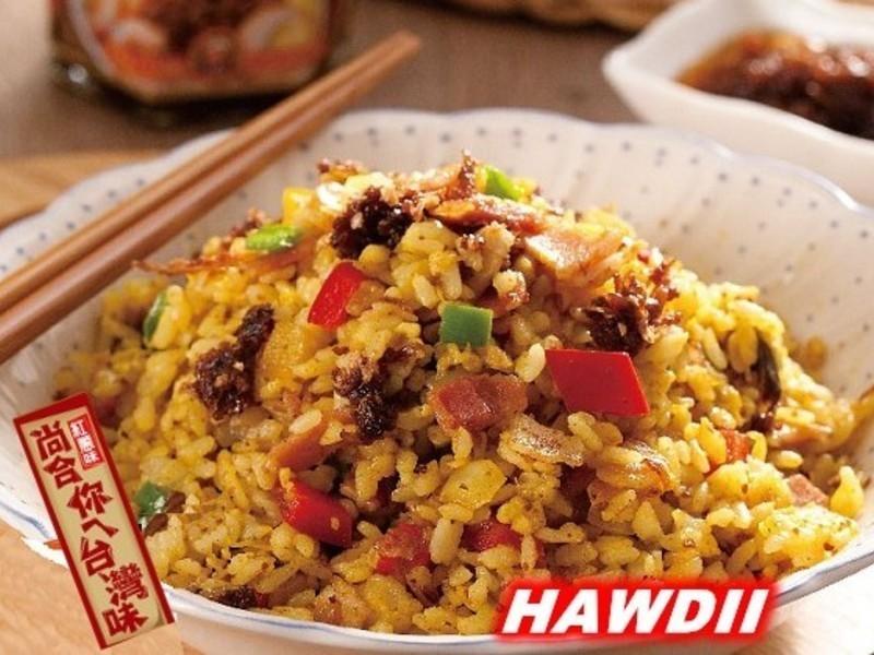紅蔥肉燥黃金炒飯