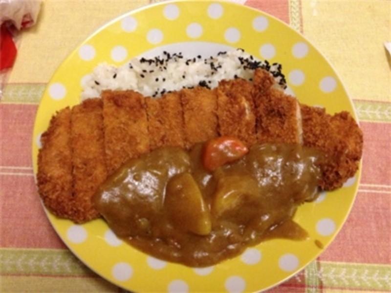 日式咖喱炸豬排