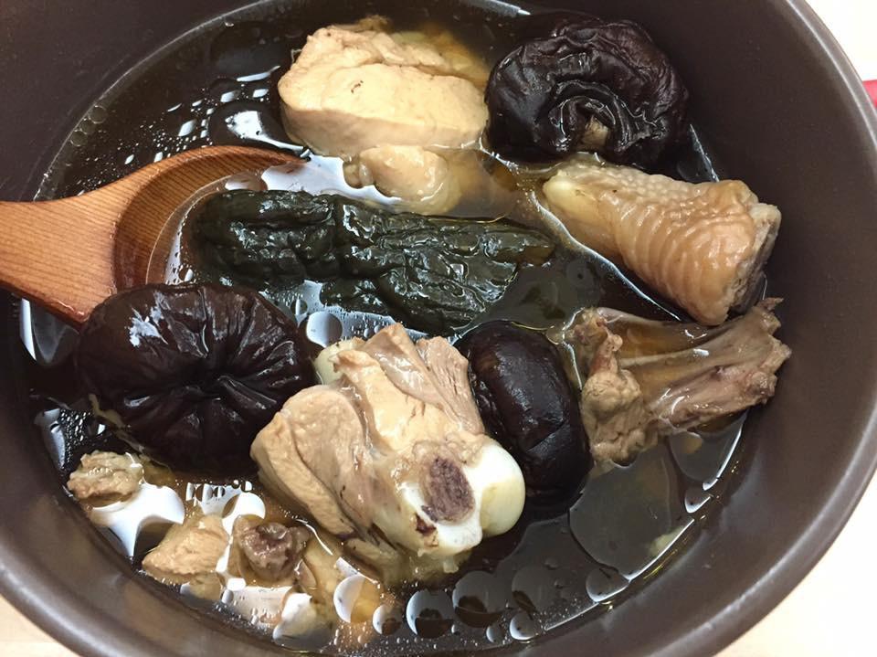 古早味·蔭瓜香菇雞湯