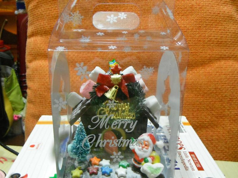 聖誕巧克力屋~迷你版~