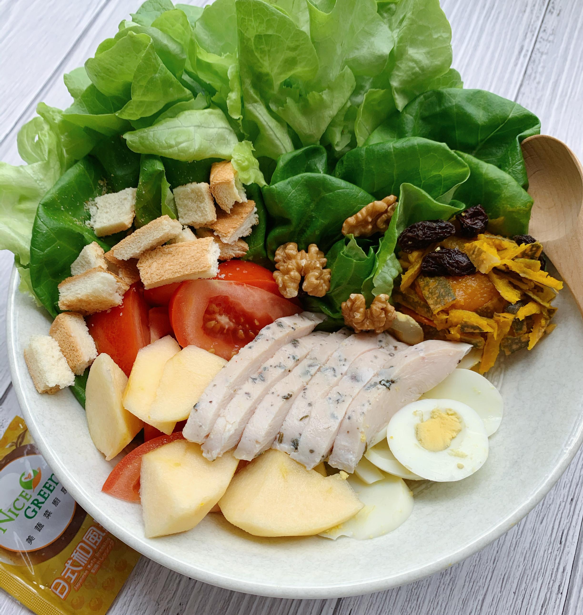 零廚藝備餐_輕食沙拉-低醣生酮均衡一下