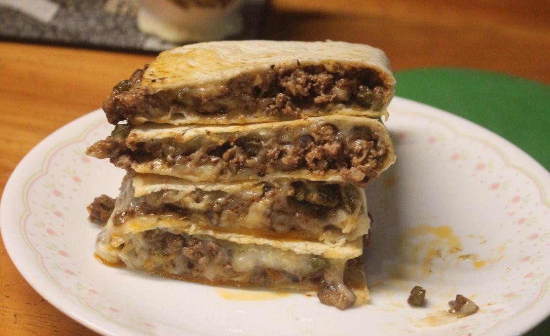 墨西哥牛肉起士餡餅