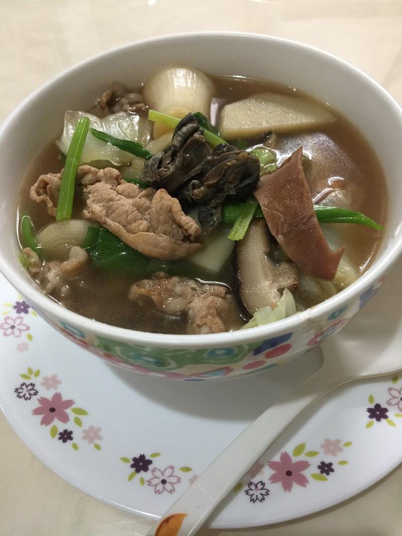 魷魚螺肉蒜湯